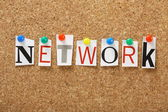 The word Network — Stock Photo