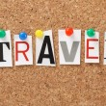 The word Travel — Stock Photo