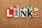 The word Links — Stock Photo