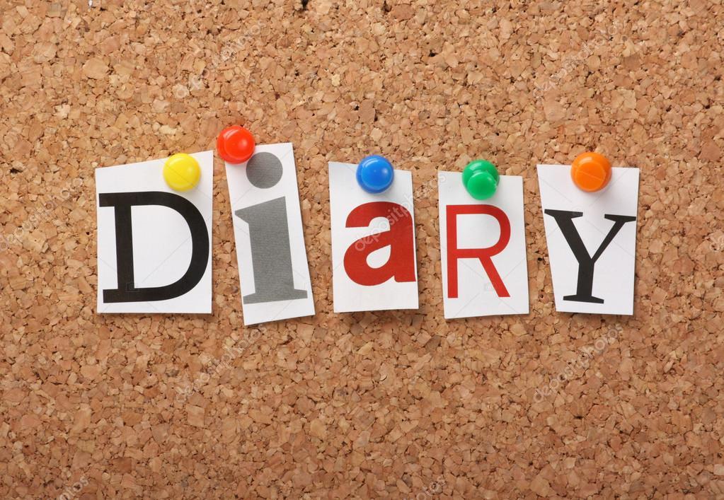 the word diary  u2014 stock photo  u00a9 thinglass  30538017