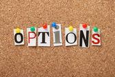Options — Stock Photo