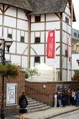 Shakespeare's globe tiyatrosu'na, londra — Stok fotoğraf