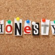 Honesty — Stockfoto