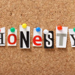 Honesty — Foto Stock