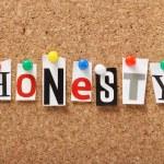 Honesty — Stock Photo