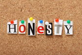 Honesty — Stock Photo