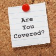 Stock Photo: Are You Covered?