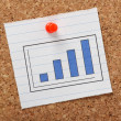Bar Chart for Growth — Stock Photo