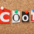 The word Cool — Stock Photo