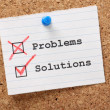 Problems and Solutions — Foto Stock