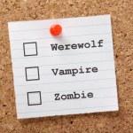Werewolf, Vampire or Zombie — Stock Photo