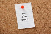 Be The Best — Stock Photo
