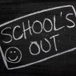 Stock Photo: School's Out