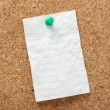 Lined Paper Note — Stock Photo
