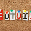 The word Future — Stock Photo