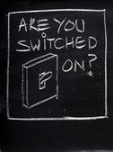 Are You Switched On? — Stock Photo