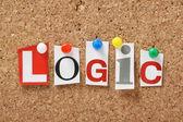 The word Logic — Stock Photo