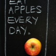Eat Apples Every Day — Stock Photo