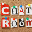 Chat Room — Foto Stock