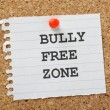 Bully Free Zone — Stock Photo