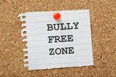 Bully Free Zone — Stock Photo