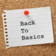 Back to Basics — Stock Photo #35556675