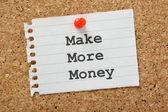 Make More Money — Stock Photo