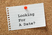Looking for a Date? — Stock Photo