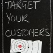 Target Your Customers — Stock Photo #35736067