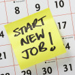 Start New Job! — Stock Photo