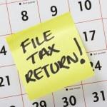 Постер, плакат: File Tax Return