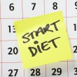 Start Diet Reminder — Stock Photo #36198469