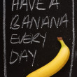 Have a Banana Every Day — Stock Photo