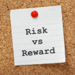 Risk Vs. Reward — Photo