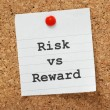Stock Photo: Risk Vs. Reward