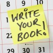 Write Your Book! — Stock fotografie