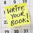 Write Your Book! — 图库照片