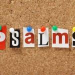 The word Psalms — Stock Photo #37181007