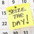 Seize The Day! — Stock Photo
