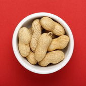 Peanuts in a Bowl — Stock Photo
