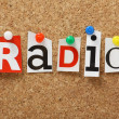 Stock Photo: Radio