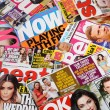 Stock Photo: Celebrity News and Entertainment Magazines