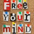 Free Your Mind — Stock Photo #39776697