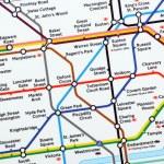 London Underground Map — Stock Photo #40081529