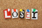 The word Loser — Stock Photo
