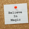 Stock Photo: Believe in Magic