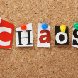Word Chaos — Stock Photo #41050675