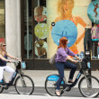Barclays Bank Bikes For Hire — Stock Photo