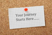 Your Journey — Stock Photo