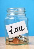 Borrowing Money Concept — Stock Photo